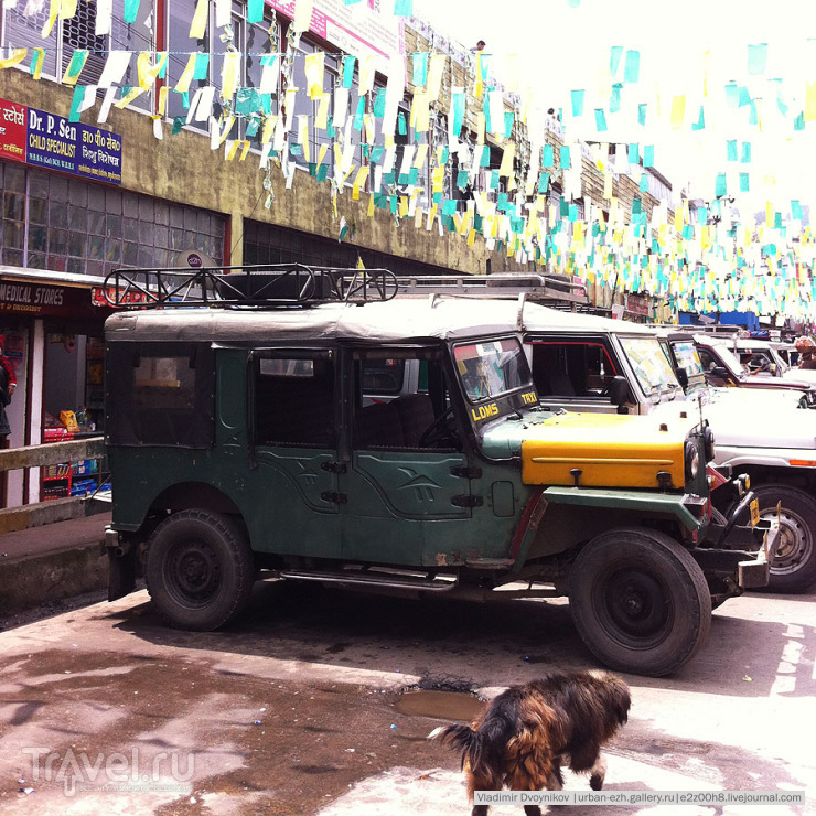 Еще один красавец shared jeep / Индия