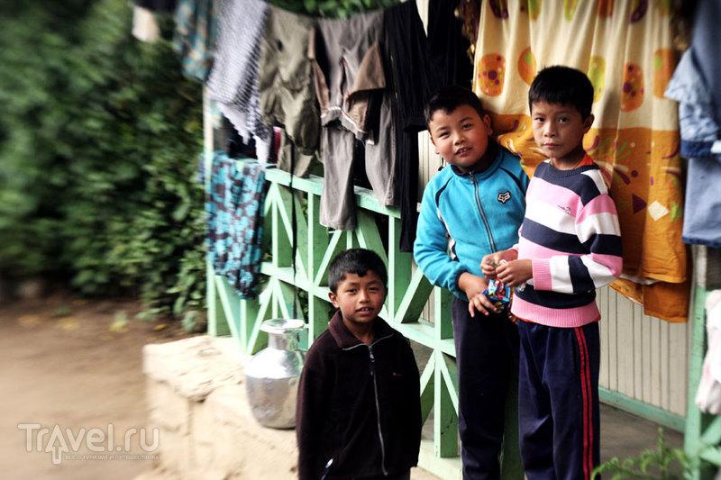 Детишки в деревеньке / Индия