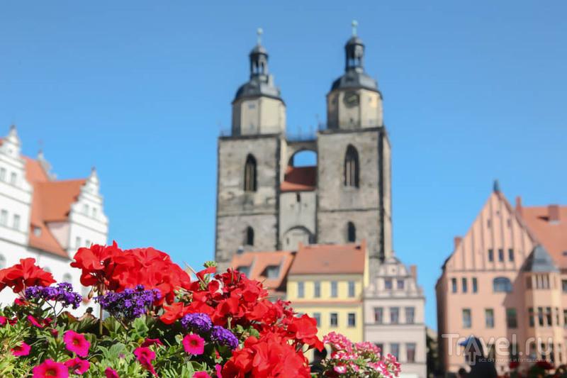 В городе Виттенберг, Германия / Фото из Германии
