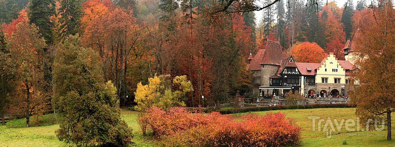 Замок Пелеш / Фото из Румынии