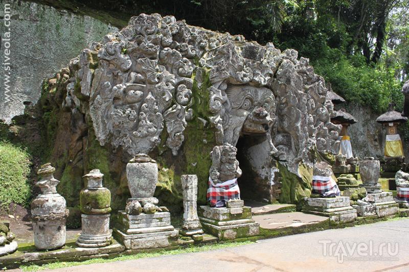 Слоновий храм Гоа-Гаджа на Бали, Индонезия / Фото из Индонезии