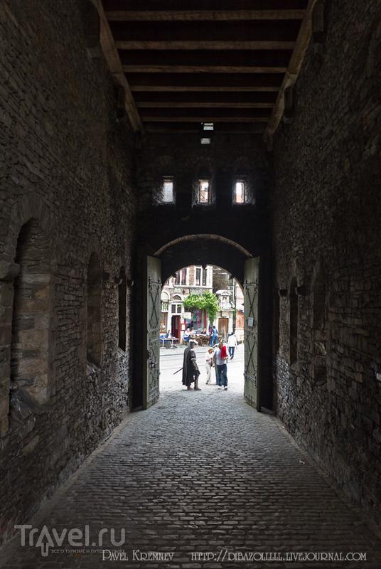 Замок графов Фландрии. Гент / Бельгия