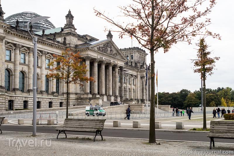 Рейхстаг в Берлине, Германия / Фото из Германии