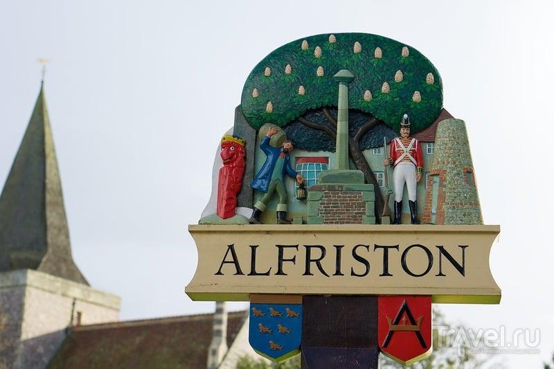 В деревне Алфристон, Великобритания / Фото из Великобритании