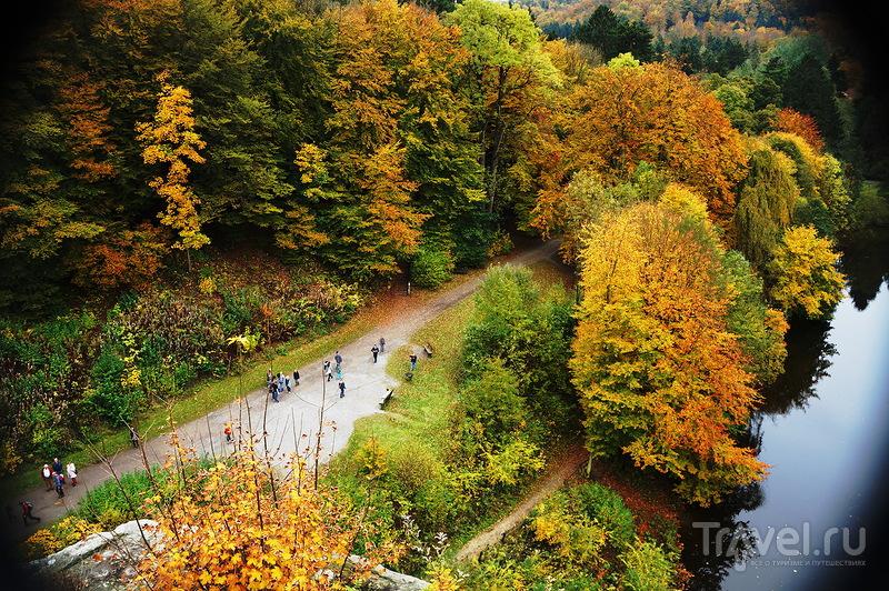 Германия, осень. Эксерские камни / Германия