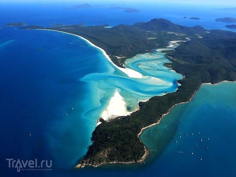 Архипелаг Уайтсанди, расположенный в штате Квинсленд, является национальным парком, Австралия / Австралия