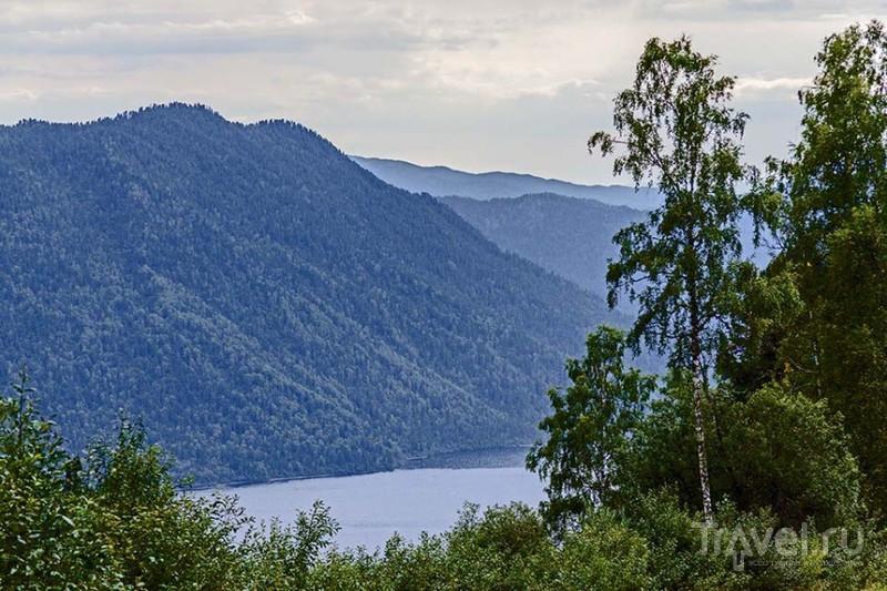 Яйлю - центральная усадьба Алтайского заповедника