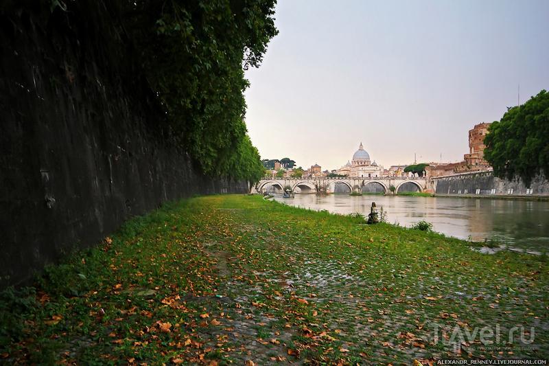 Река Тибр / Фото из Италии