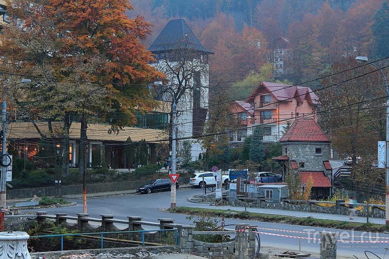 Прекрасный горнолыжный курорт - Синая / Фото из Румынии