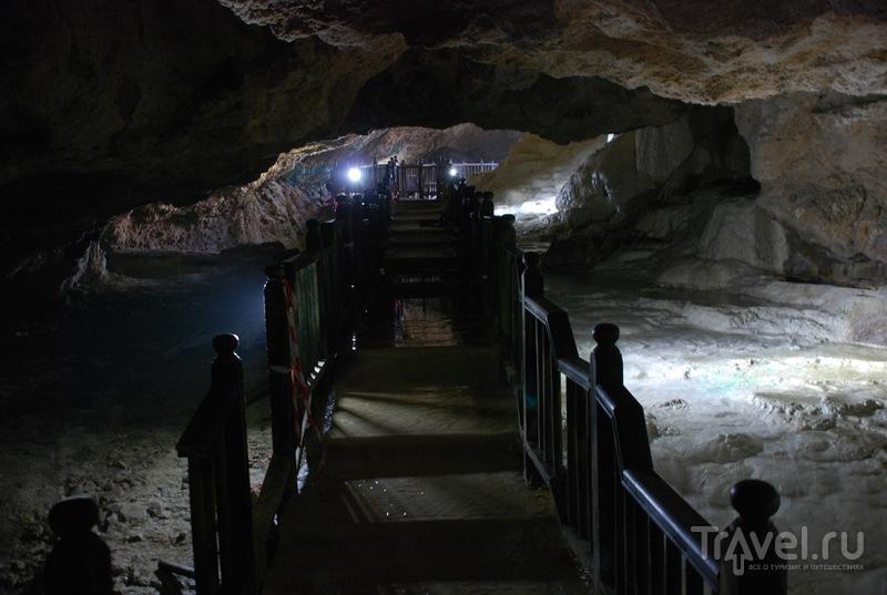 Подземная сторона Памуккале / Турция
