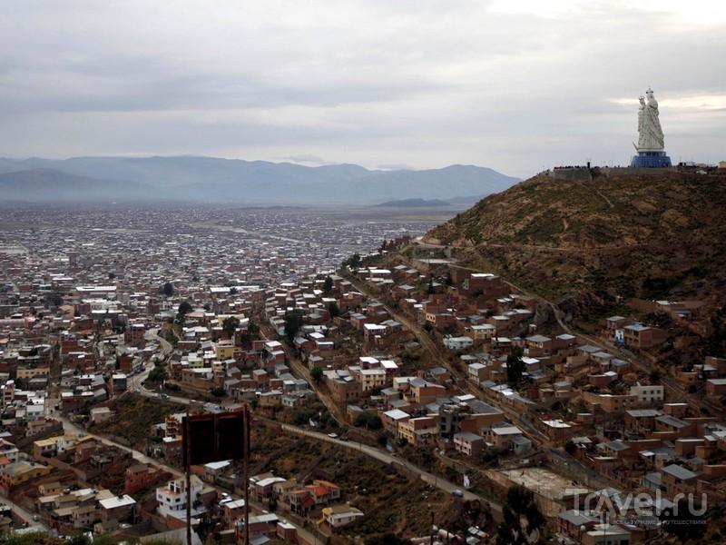 Дева Мария - покровительница шахтерского городка Оруро в Боливии / Боливия