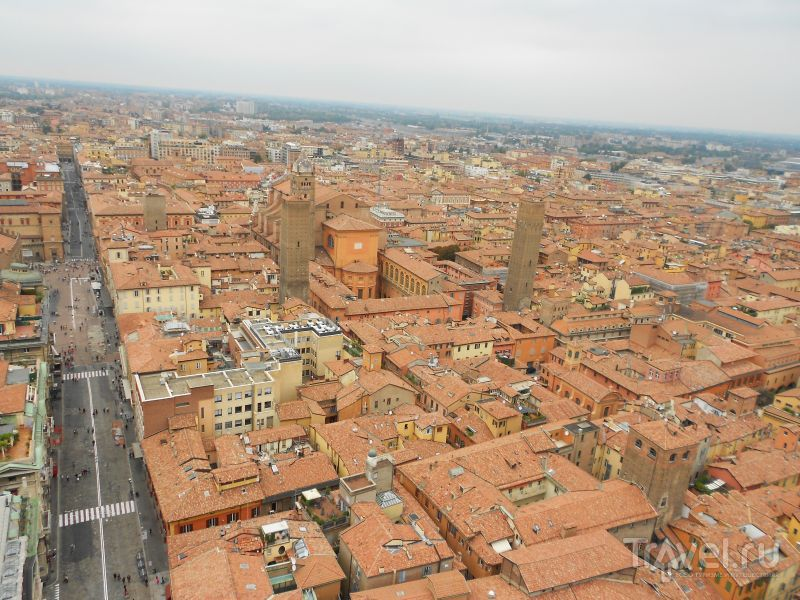 В городе Болонья, Италия / Фото из Италии