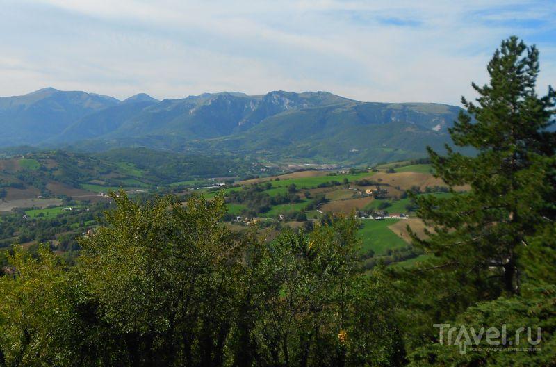 Вид на горы Сибиллини, Италия / Фото из Италии