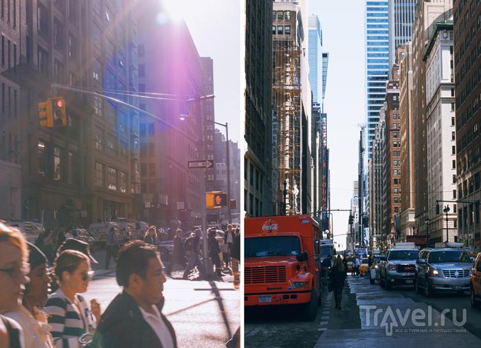 Район Манхэттен в Нью-Йорке, США / Фото из США