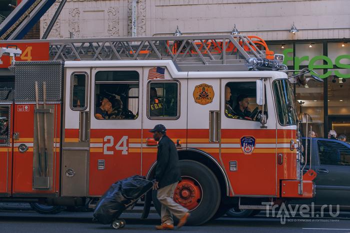 Нью-Йорк - жизнь, как в кино... / Фото из США