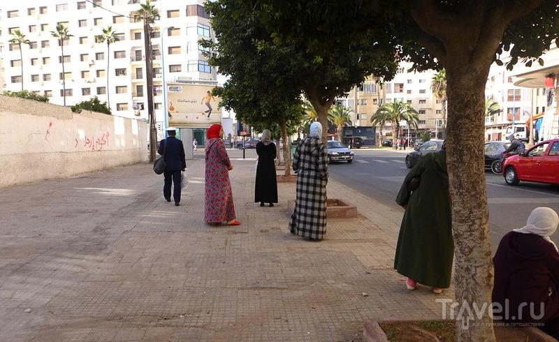 Зимний день в Касабланке / Марокко