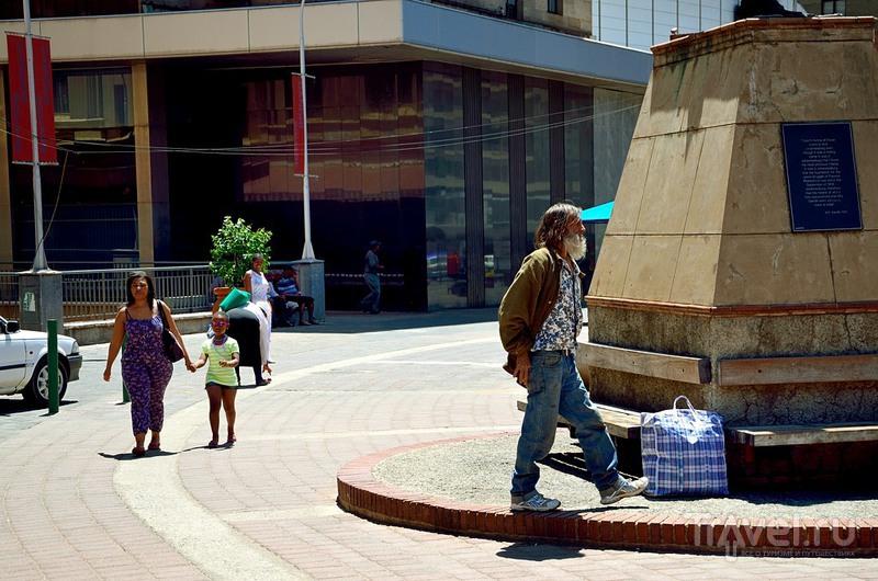 На площади Ганди в Йоханнесбурге, ЮАР / Фото из ЮАР
