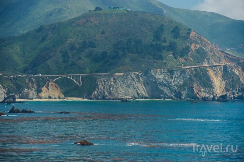 Калифорния, шоссе №1 - самое красивое на Земле / США