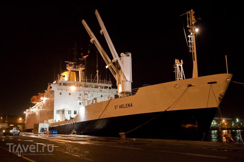 Корабль RMS St.Helena / Фото из ЮАР