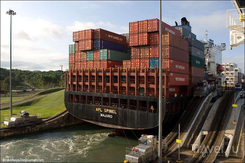 Панамский канал, Панама / Фото из Панамы