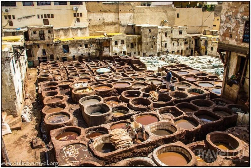 В городе Фес, Марокко / Фото из Марокко