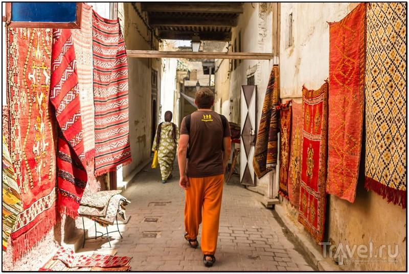 Фес эль-Бали или старая Медина, Марокко / Фото из Марокко
