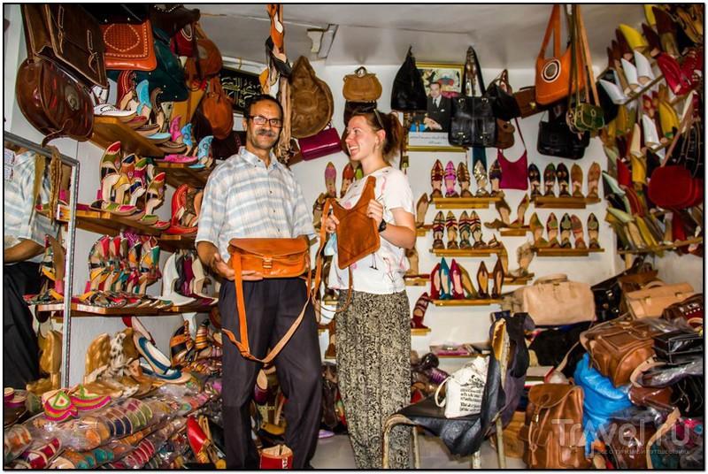 Красильни Шуара в городе Фес / Фото из Марокко