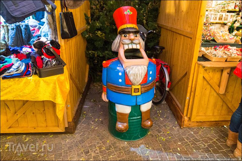Рождественский базар. Кёльн. Рудольфплатц / Фото из Германии