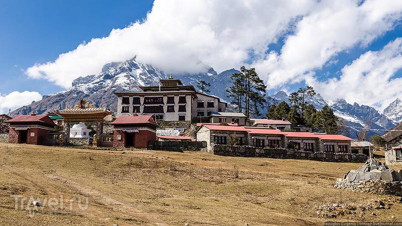 Монастырь в Тенгобоче, Непал / Фото из Непала