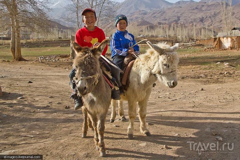 В аиле Кызыл-Ой, Киргизия / Фото из Киргизии