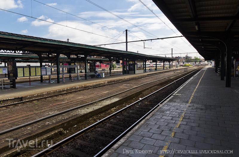 Вокзал St.Pieters в Генте, Бельгия / Фото из Бельгии