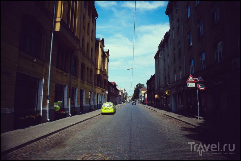Улица Альберта в Риге, Латвия / Фото из Латвии
