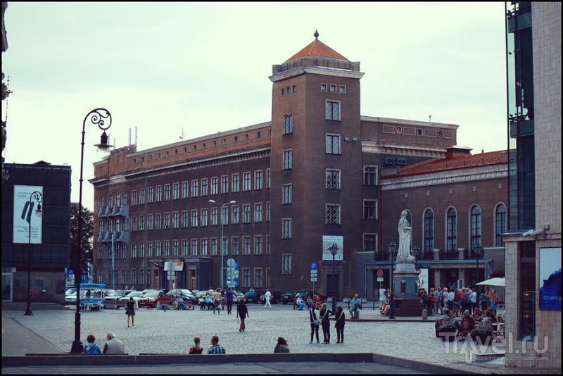 Улица Яуниела в Риге, Латвия / Фото из Латвии