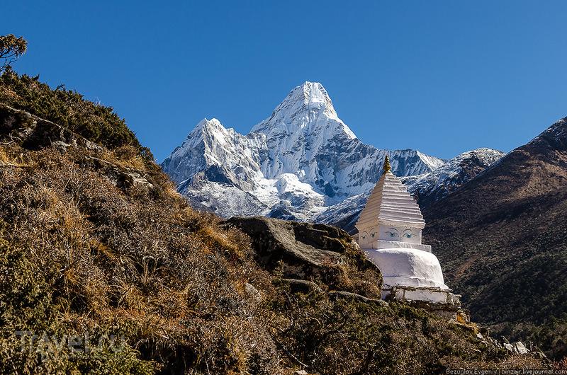 Гора Ама-Даблам, Непал / Фото из Непала