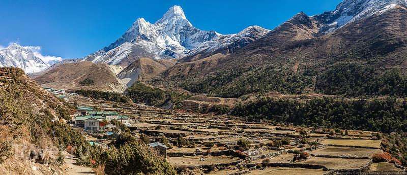 Деревня Пангбоче, Непал / Фото из Непала