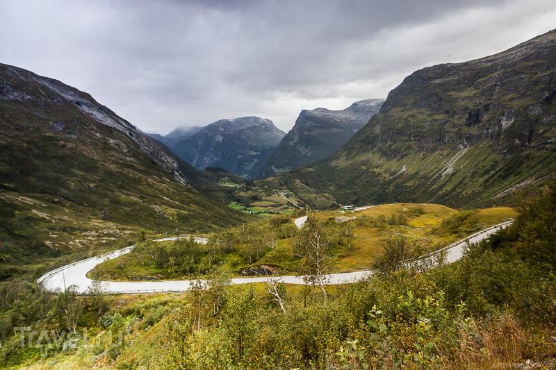 У города Гейрангер, Норвегия / Фото из Норвегии