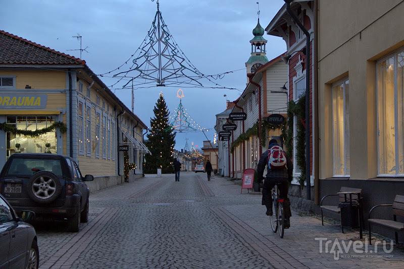 В городе Раума, Финляндия / Фото из Финляндии