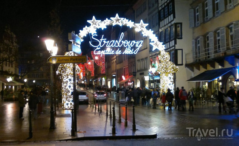 Рождественская ярмарка в Страсбурге / Фото из Франции