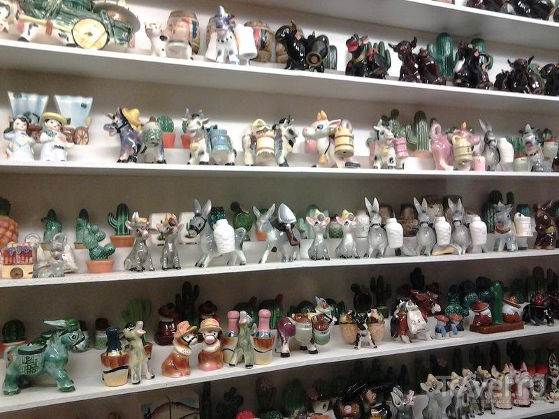Гвадалест. Музей солонок и перечниц