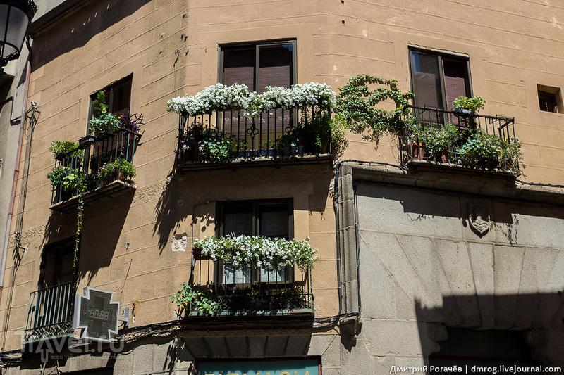 Прогулка по Сеговии / Фото из Испании