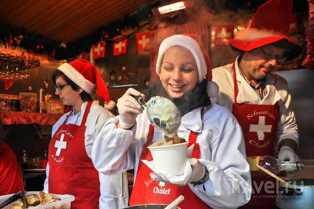 Чем кормят на Рождественском базаре в Люксембурге и не только / Люксембург