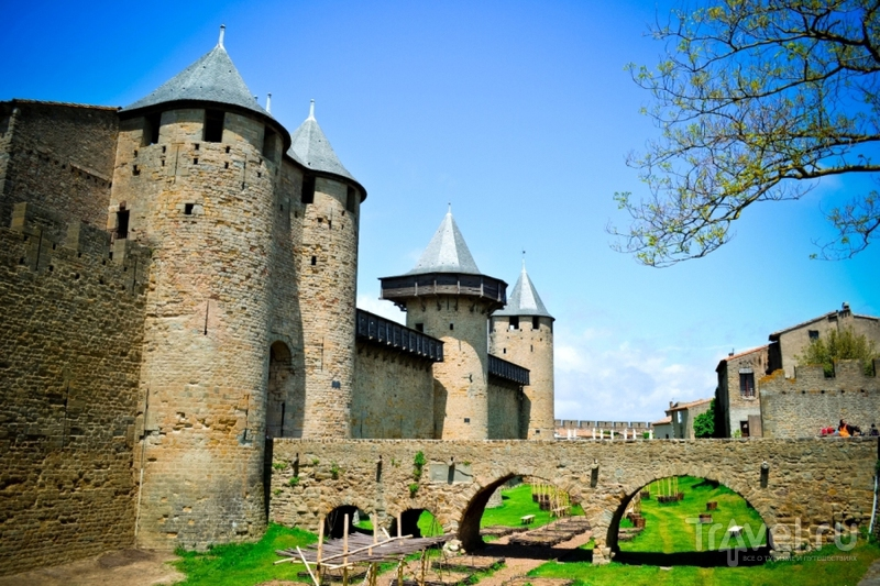 Каркассон. Образцовый пример реставрации / Франция