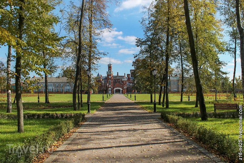 Рамонь. Парк у дворца Ольденбургских после реконструкции