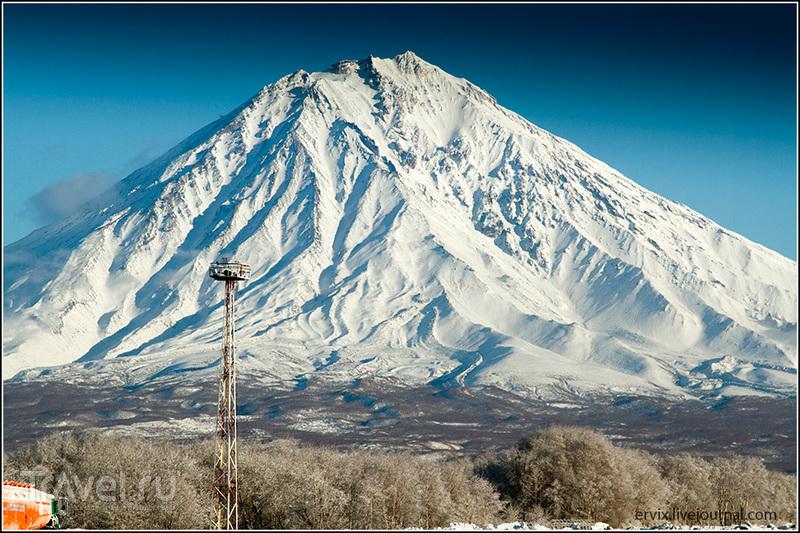 Вулкан Корякская Сопка, Россия / Фото из России