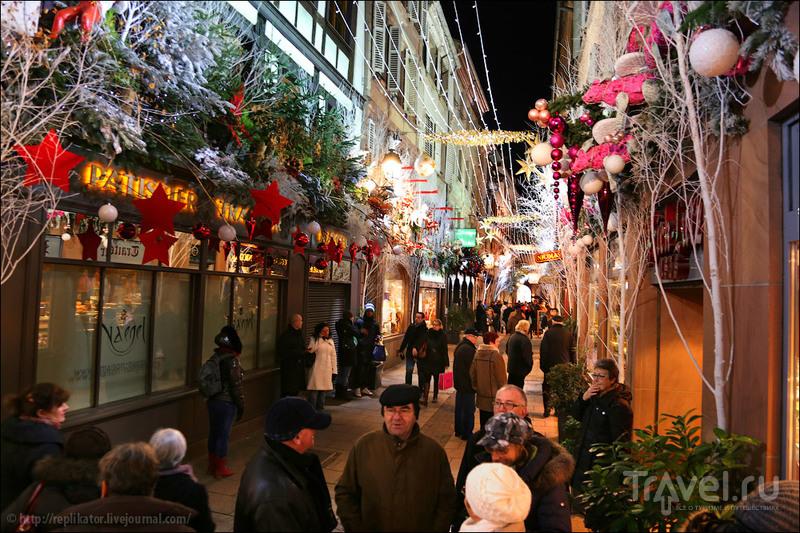 Улица Rue des Orfèvres в Страсбурге, Франция / Фото из Франции