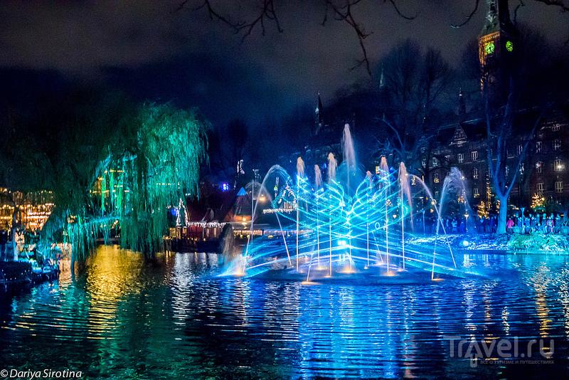 Рождественская ярмарка в парке Тиволи, Копенгаген / Фото из Дании