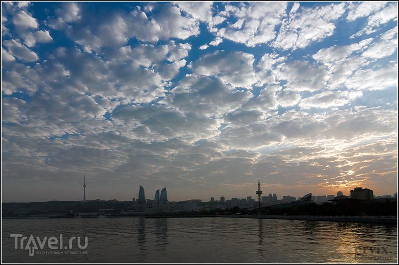 Апшеронский залив в Баку, Азербайджан / Фото из Азербайджана