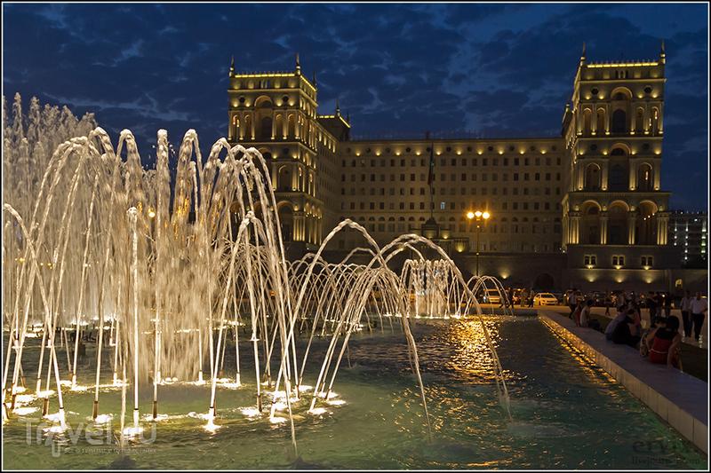 Дом правительства Азербайджана в Баку / Фото из Азербайджана