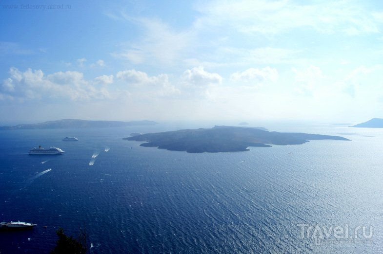 Санторини. Экскурсия на Volcano Island / Греция