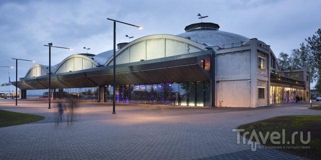 Ангары гидросамолетов в Леннусадам (Лётной гавани)